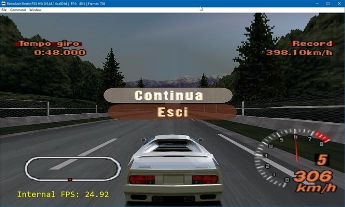 Beetle PSX HW, slow internal FPS? - Cores - Libretro Forums