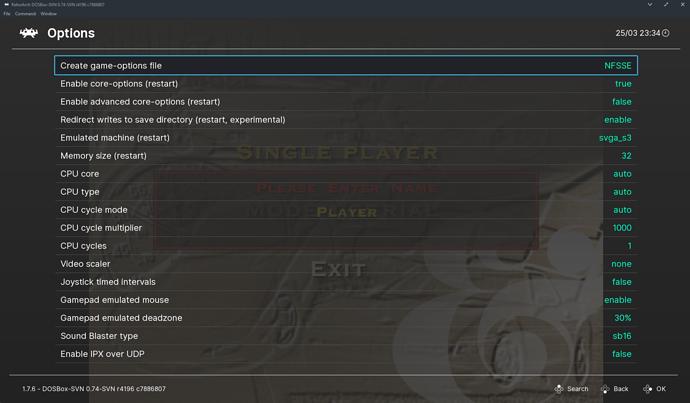 Sx05RE: Retro Emulation Kodi Addon for CoreELEC, released for