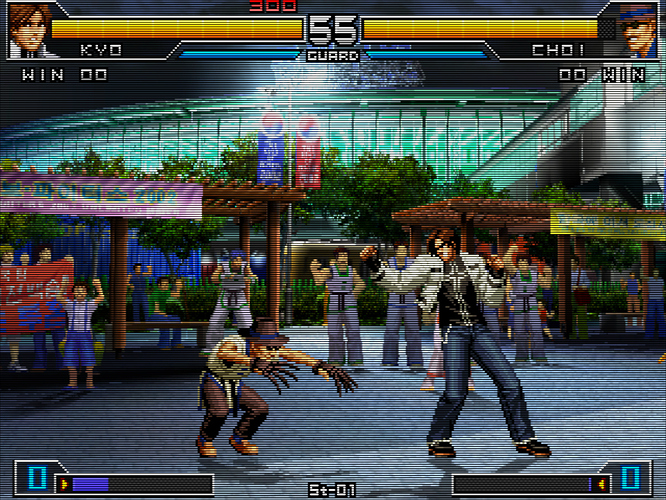 The King of Fighters 2002 - Unlimited Match - Tougeki Ver. (Japan)-210407-165843