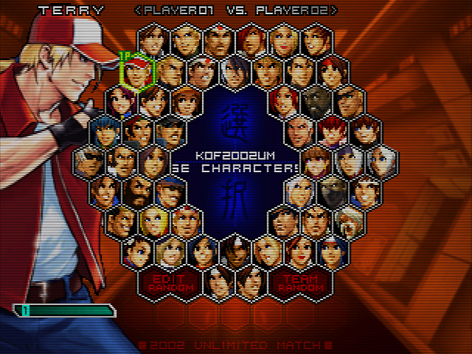 The King of Fighters 2002 - Unlimited Match - Tougeki Ver. (Japan)-210407-165950