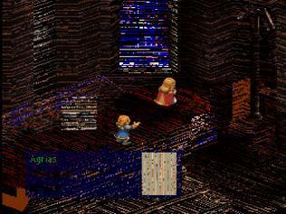 Mednafen PSX Final Fantasy Tactics Graphics corruption