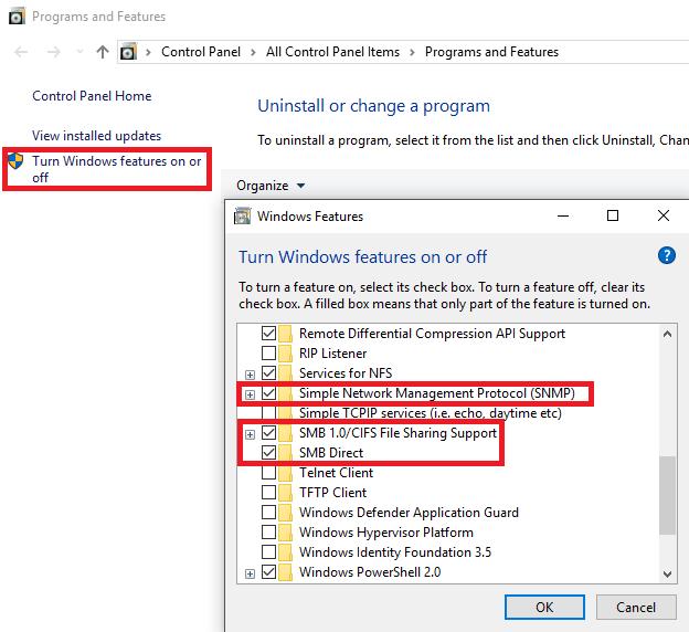 Lakka doesn't appear in network interface Windows10 - Lakka