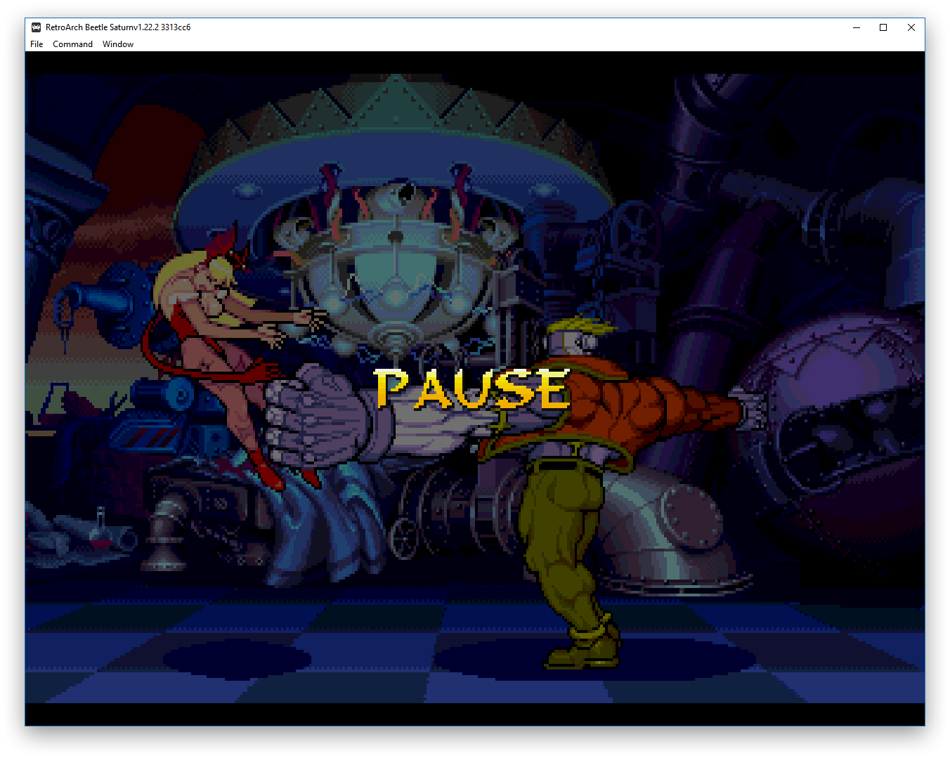 D-pad combos function makes Beetle-SS core all CPS2 games