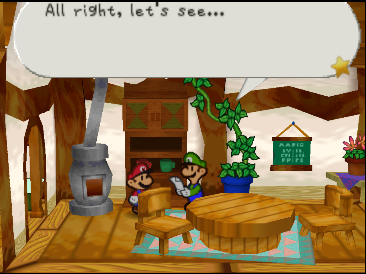 How is Paper Mario meant to look? - General - Libretro Forums