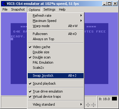How to swap disks with the new VICE Commodore64 core? - Cores