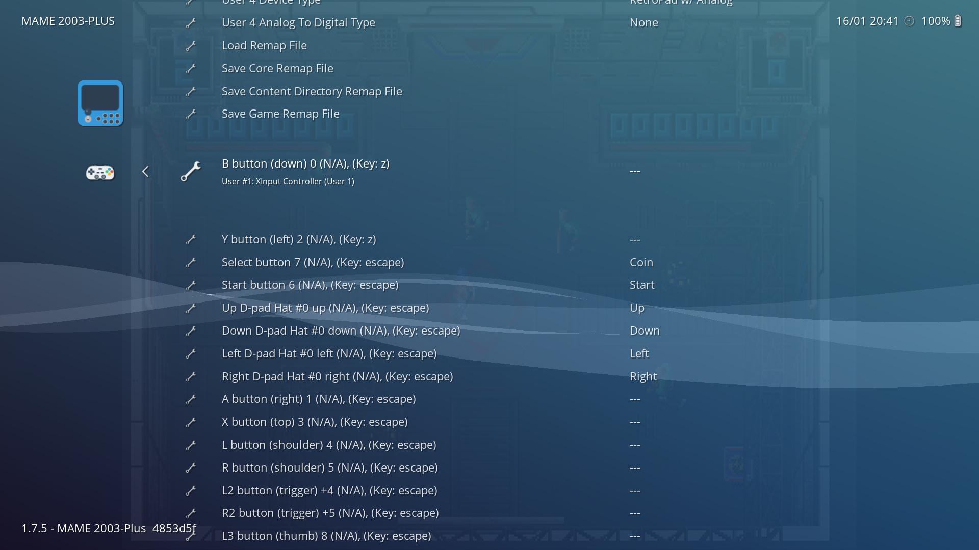 Arcade control remapping locked - General - Libretro Forums