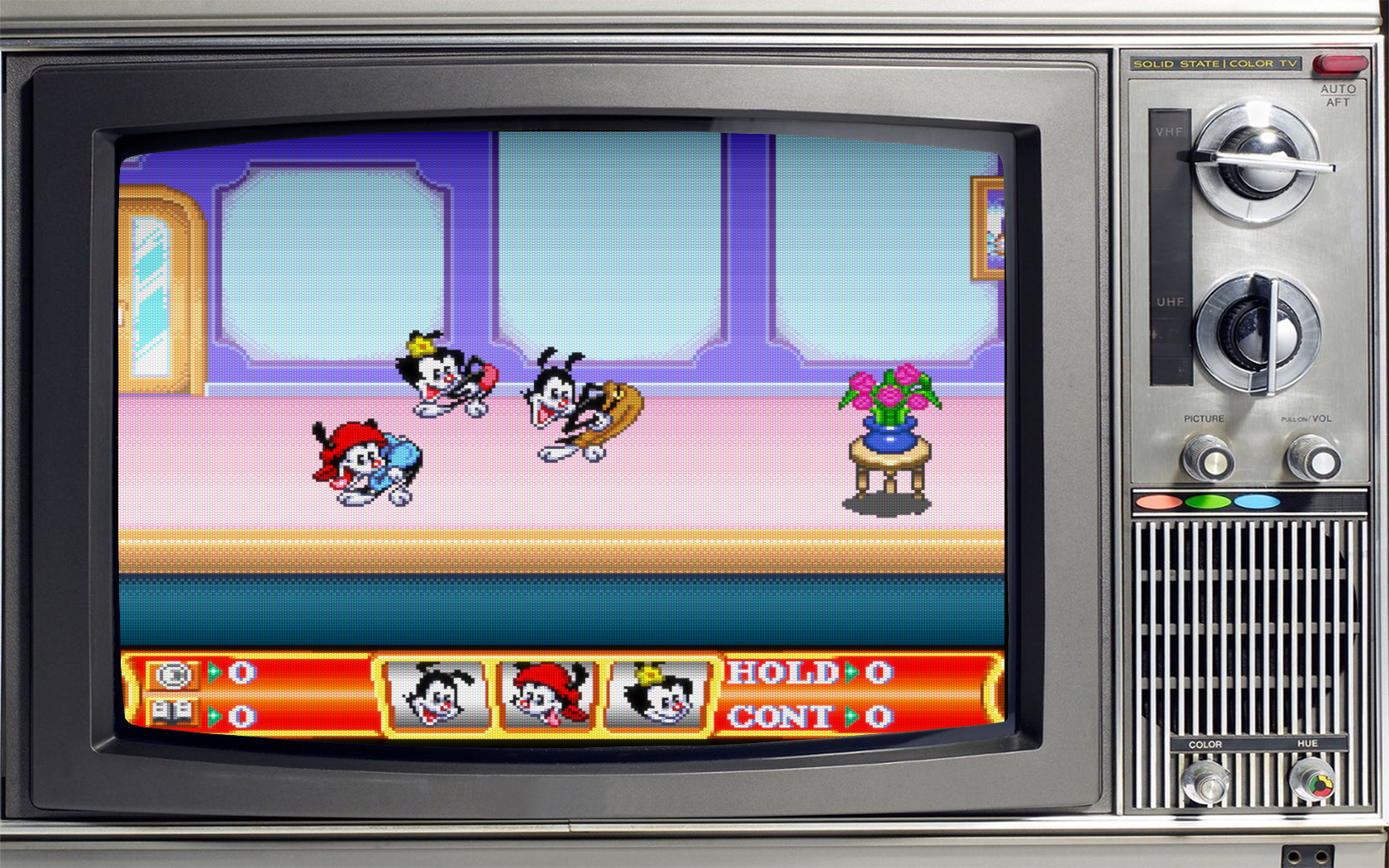 Exodus' CRT TV's Overlays Collection (With Day and Night