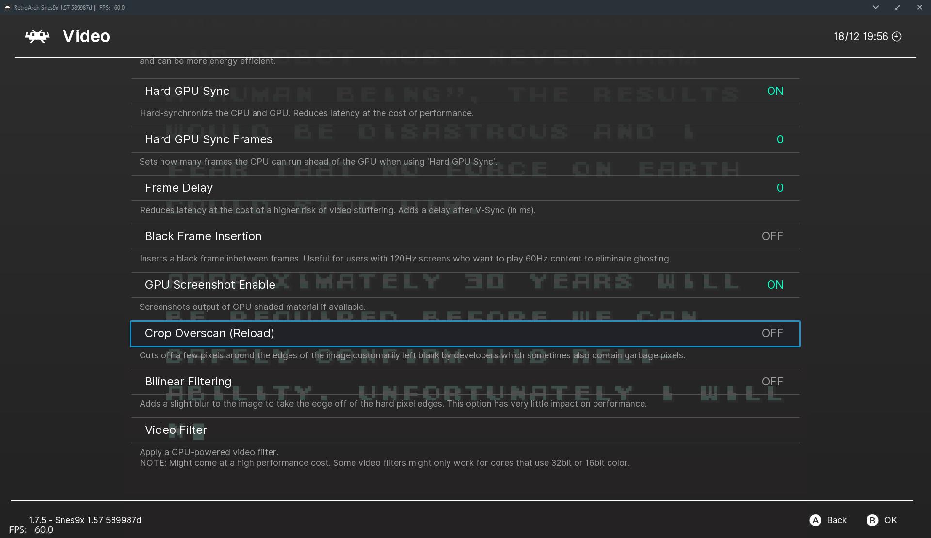 Overscan / Scanline / Aspect Ratio control - Libretro Forums