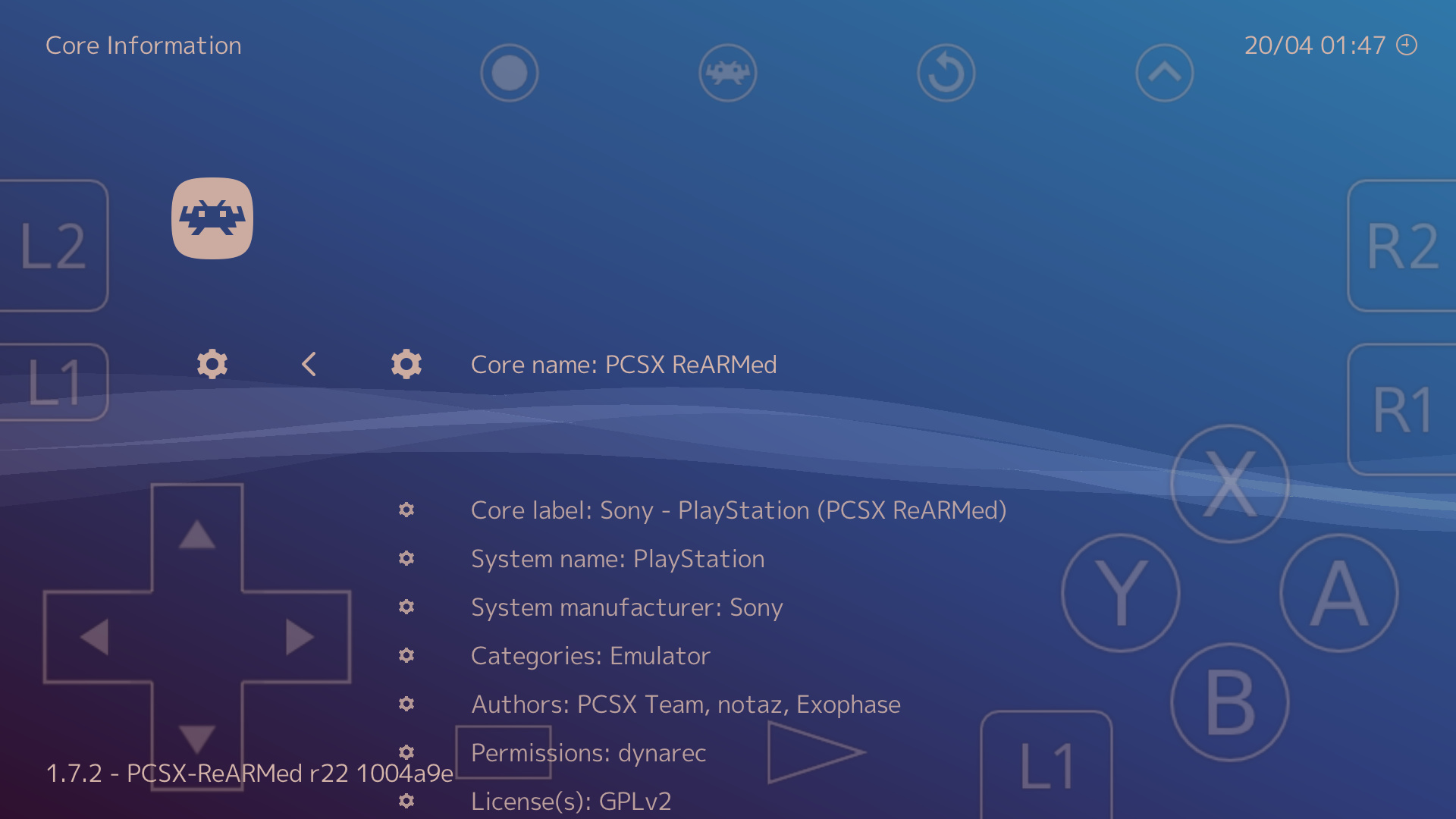 PBP files no longer working on pcsx rearmed core for Android